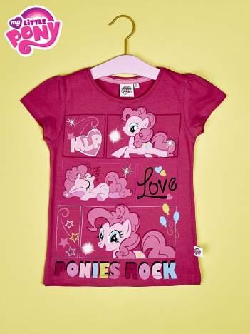Ciemnoróżowy t-shirt dla dziewczynki MY LITTLE PONY