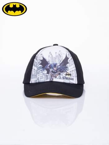 Czarna chłopięca czapka z daszkiem BATMAN