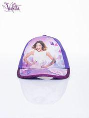 Fioletowa czapka z daszkiem dla dziewczynki VIOLETTA