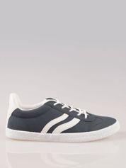 Granatowe buty sportowe w stylu casual Kash