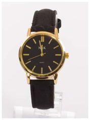 Butik Klasyczny damski zegarek z dyskretnym wzorem na tarczy. Bardzo zgrabny. Delikatny i kobiecy.