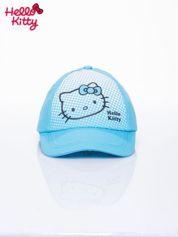 Niebieska czapka z daszkiem dla dziewczynki HELLO KITTY