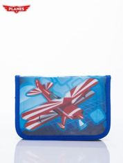 Niebieski piórnik szkolny DISNEY Samoloty