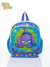 Disney Niebieski plecak na wycieczkę DISNEY Soft Spots