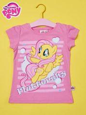Różowy t-shirt dla dziewczynki MY LITTLE PONY