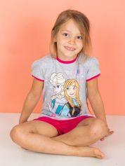 Szara piżama dla dziewczynki KRAINA LODU