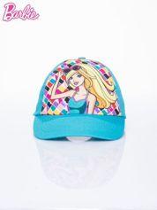 Turkusowa czapka z daszkiem dla dziewczynki BARBIE