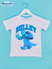 Turkusowy t-shirt chłopięcy UNIWERSYTET POTWORNY