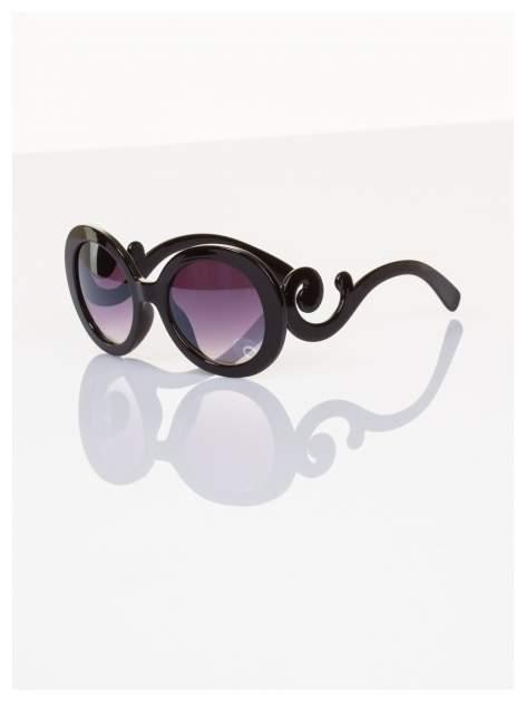 Czarne okulary FASHION wyjątkowe