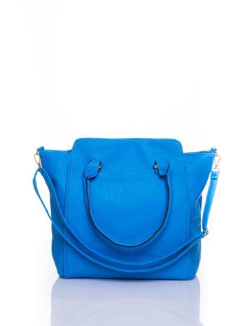 Niebieska torba shopper bag