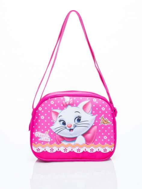 Różowa torba szkolna DISNEY kotka Merie
