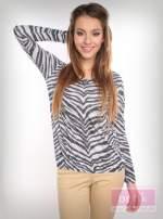 Bluzka z motywem zebry