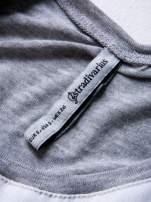 STRADIVARIUS Biała bluzka typu cropped z napisem CALIFORNIA