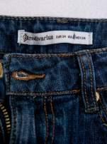 STRADIVARIUS Spódnica mini z denimu z naszywkami