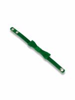 Zielona Bransoletka z kokardką