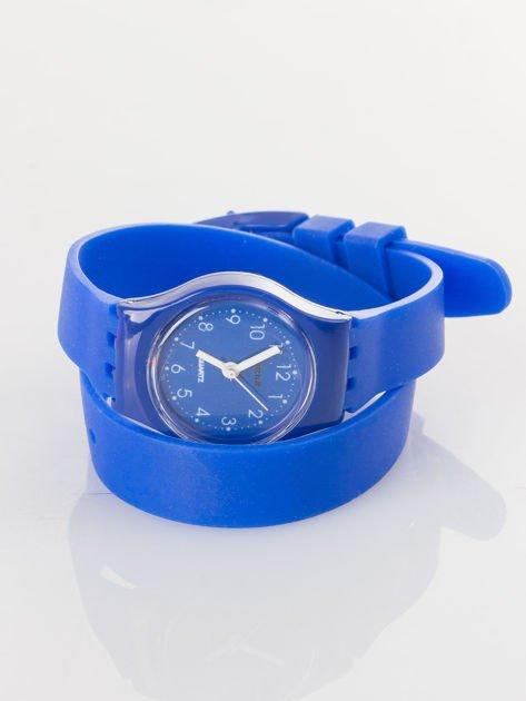 Zestaw 5 modnych bransoletek i silikonowy zegarek                              zdj.                              6