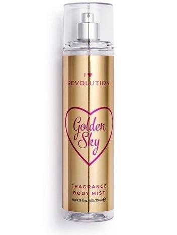 I ♥ Revolution Golden Sky Body Mist Perfumowana mgiełka do ciała 236 ml