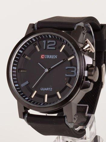 Nowoczesny i duży męski zegarek