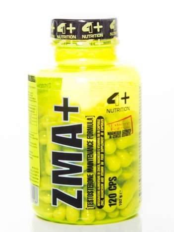 4+ - ZMA+ - 120 cps