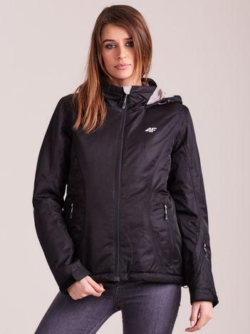 4F Czarna kurtka damska narciarska