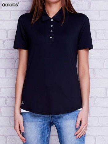 ADIDAS Czarna koszulka polo