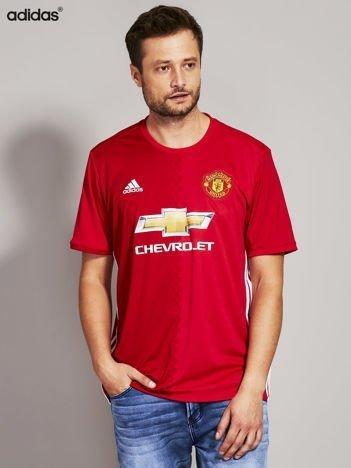ADIDAS Czerwony t-shirt męski Pogba 6 Manchester United