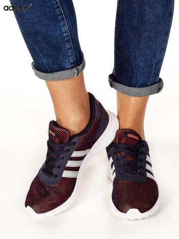 ADIDAS Granatowe siateczkowe buty sportowe damskie