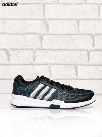 ADIDAS czarne buty męskie sportowe z siateczką