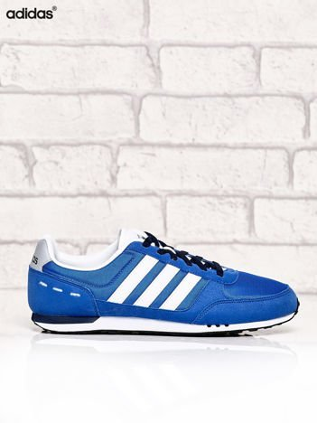 ADIDAS niebieskie buty męskie Neo City Racer sportowe miejskie