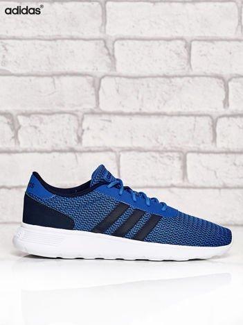 ADIDAS niebieskie buty męskie sportowe Lite Racer w graficzny wzór