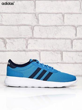 ADIDAS niebieskie buty męskie sportowe z wyższą podeszwą