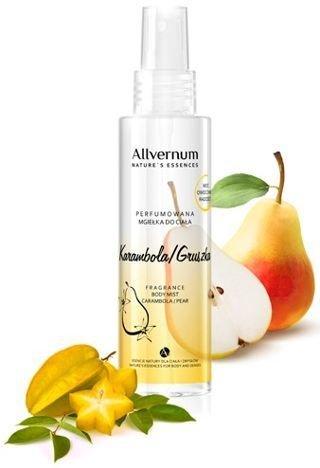 ALLVERNE NATURE ESSENCES Perfumowana mgiełka do ciała Karambola/Gruszka 125 ml