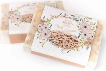 AROMA Soap NATURALNE Mydło OWIES 80 g