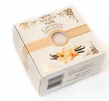AROMA Soap Naturalne mydło OWSIANE MLECZKO 150 g