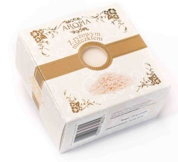 AROMA Soap Naturalne mydło RYŻOWE MLECZKO 150 g