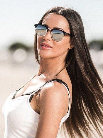 ASPEZO Okulary przeciwsłoneczne damskie POLARYZACYJNE czarne ROME Etui skórzane, etui miękkie oraz ściereczka z mikrofibry w zestawie