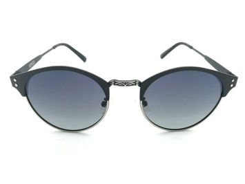 14c4108c3283 ASPEZO Okulary przeciwsłoneczne damskie POLARYZACYJNE czarne TOKYO Etui  skórzane