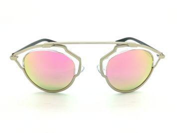 ASPEZO Okulary przeciwsłoneczne damskie POLARYZACYJNE różowe SAN FRANCISCO Etui skórzane, etui miękkie oraz ściereczka z mikrofibry w zestawie