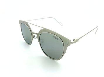 ASPEZO Okulary przeciwsłoneczne damskie POLARYZACYJNE srebrne VIENNA Etui skórzane, etui miękkie oraz ściereczka z mikrofibry w zestawie