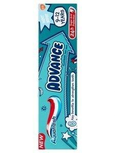 Aquafresh Pasta do zębów dla dzieci Advance 9-12 lat  75 ml