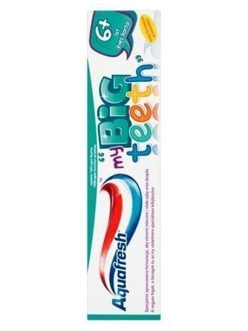 Aquafresh Pasta do zębów dla dzieci My Big Teeth 6+  50 ml