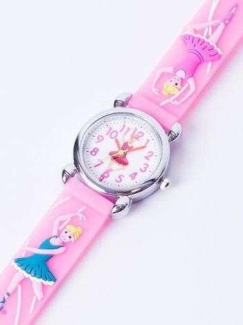 BALLERINA Jasnoróżowy Dziecięcy Zegarek BALETNICA