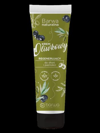 BARWA Naturalna Krem Oliwkowy do dłoni i paznokci - regenerujący 100 ml