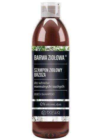 BARWA Ziołowa Szampon do włosów Brzozowy - włosy normalne i suche 250 ml