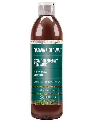 BARWA Ziołowa Szampon do włosów Rumiankowy - włosy jasne 250 ml
