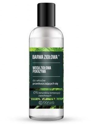 BARWA Ziołowa Woda Pokrzywowa do włosów przetłuszczających się 95 ml