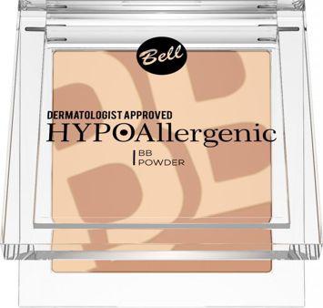 BELL HYPOAllergenic Hypoalergiczny puder matująco-modelujący BB POWDER 02