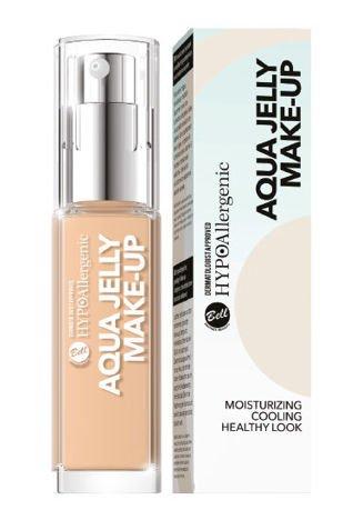 BELL HYPOAllergenic Podkład Nawilżająco-Matujący Aqua Jelly Make-Up 01