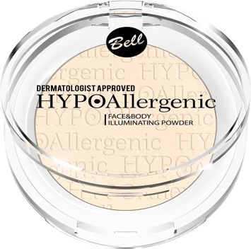 BELL HYPOAllergenic Puder Rozświetlający Face & Body Illuminating Powder 01