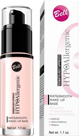 BELL HYPOallergenic Baza pod makijaż matująco-wygładzająca Mat & Smooth Make-Up Base 30 ml